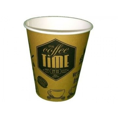 Стакан «CoffeeTime» однослойный CUP 250