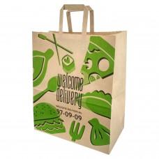 УР, г. Ижевск, служба доставки еды на дом «Welcome-Delivery». Новый дизайн