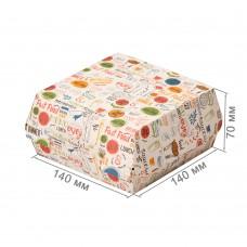 Упаковка для бургеров «ECO BURGER L Enjoy»
