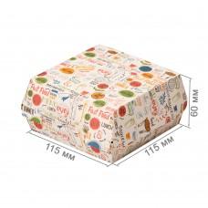 Упаковка для бургеров «ECO BURGER M Enjoy»