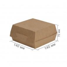 Упаковка для бургеров «ECO BURGER L Pure Kraft»