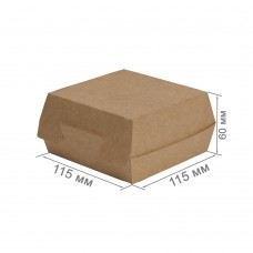 Упаковка для бургеров «ECO BURGER M Pure Kraft»