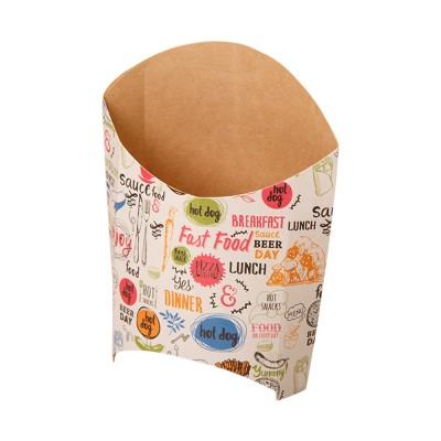 Упаковка для картофеля фри «ECO FRY L Enjoy»