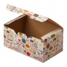Упаковка для наггетсов «ECO FAST FOOD BOX L Enjoy»