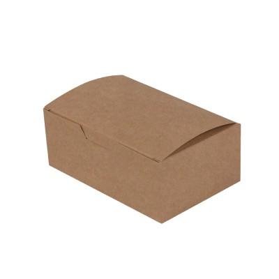 Упаковка для наггетсов «ECO FAST FOOD BOX S Pure Kraft»