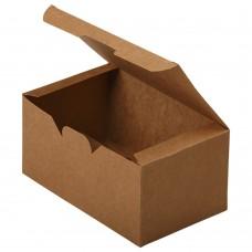 Упаковка для наггетсов «ECO FAST FOOD BOX L Pure Kraft»