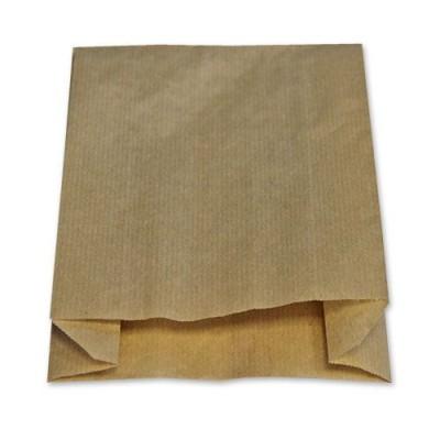 Пакет бумажный жиростойкий 210*110*35 (крафт)