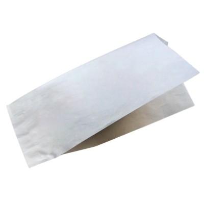 Уголок бумажный под хот-дог белый 80x40x225
