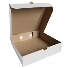 Коробка для пирога белая