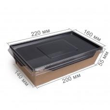 Салатник «ECO OPSALAD 1000 Black Edition»