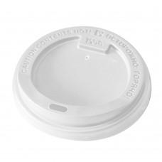 Крышка для стаканчиков «TLS-80» с питейником белая