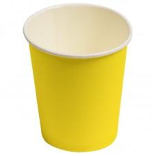 "Стакан ""Желтый"" однослойный 250 мл"