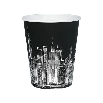 Стакан «Night city» черный 250 мл