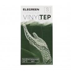 Перчатки из термопластичного эластомера «VINYLTEP» прозрачные 25 пар