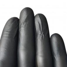 Перчатки нитровиниловые «Wally Plastic» черные 50 пар