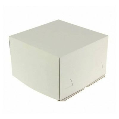 Коробка для торта «Эконом» 400x400x350 белая