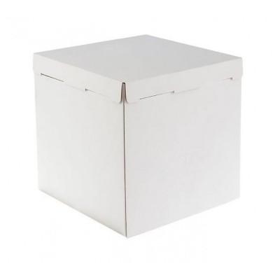 Коробка для торта «Эконом» 300x300x300 белая