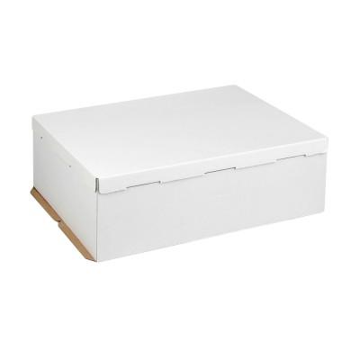 Коробка для торта «Эконом» 600x400x210 белая