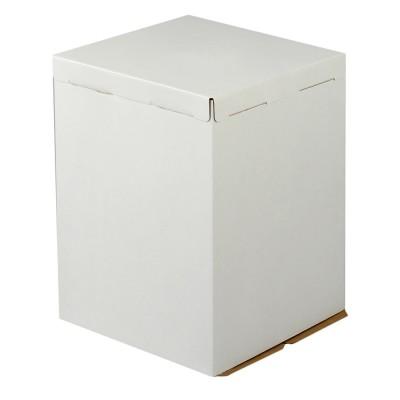 Коробка для торта «Эконом» 500x500x640 белая