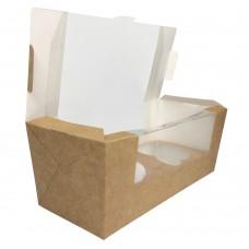Коробка для 2 капкейков «Fupeco MUF 2» крафт