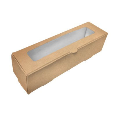 Коробка для макарони «Fupeco MB 6» крафт