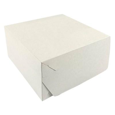 Коробка для торта 225x225x110 белая