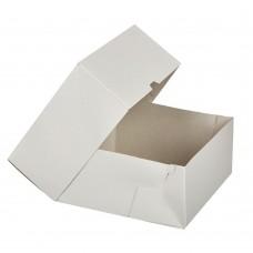 Коробка для торта 180x180x100 белая