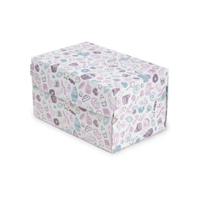 Коробка для торта «ECO CAKE 1200» Sweet