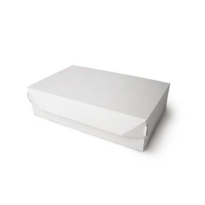 Коробка для торта «ECO CAKE 1900» белая