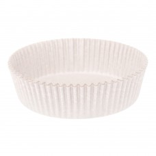 Бумажная форма для тарталеток круглая 10 белая