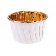 Бумажная форма «Маффин» фольгированная, палитра цветов
