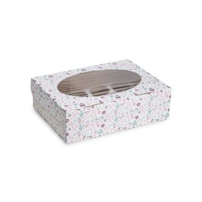 Коробка для 12 капкейков «ECO MUF 12» Sweet