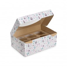 "Коробка для 6 капкейков «ECO MUF 6» ""Sweet"""