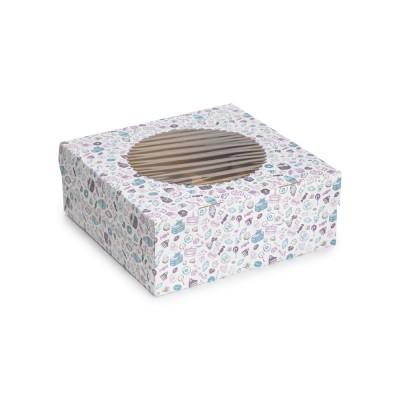 "Коробка для 9 капкейков «ECO MUF 9» ""Sweet"""