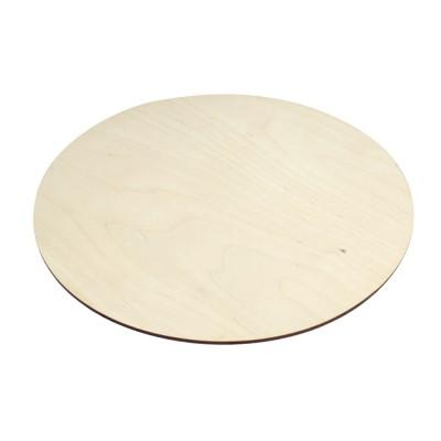 Подложка для торта круглая деревянная