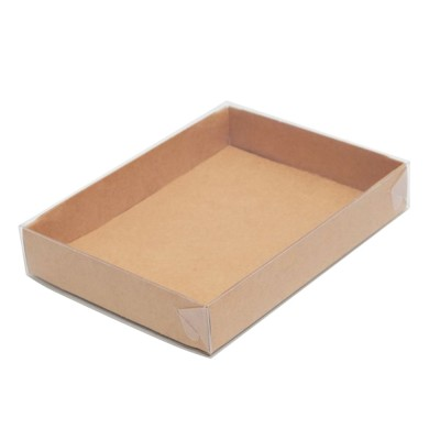 Упаковка для конфет «Ukonf 25» с прозрачной крышкой